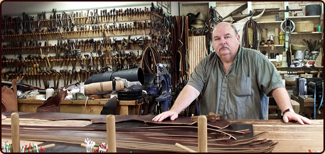 Dennis Knight of River Ridge Leather Co.
